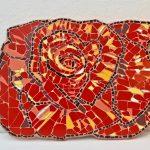 Keramik-Rose
